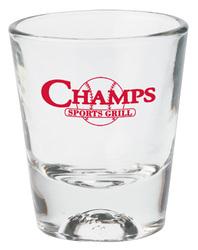 1-1/2 oz. Baseball Sports Shot Glass