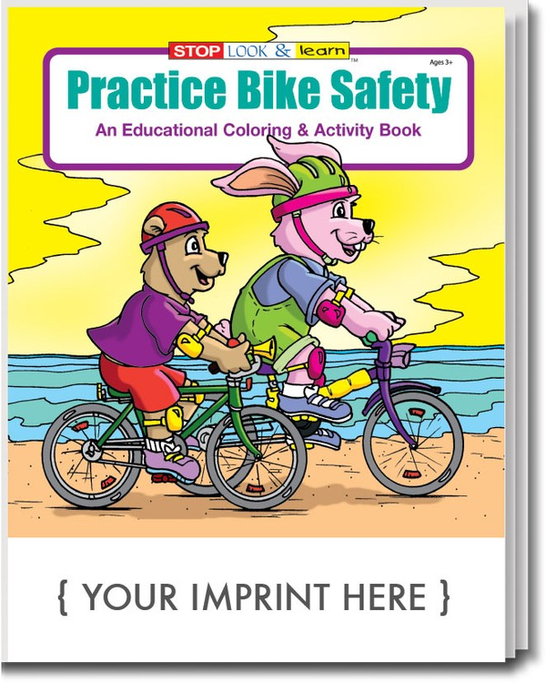 COLORING BOOK - Practice Bike Safety Coloring & Activity Book