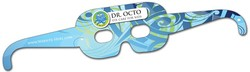 Mask Glasses UV Coated - 16.25x3.25