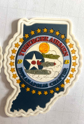 Rubber PVC Patches, Labels for Decorating Blank Hats, Bags, Totes, Golf Shirts