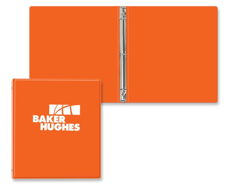 3/4 Vinyl Ring Binder with front/back pockets