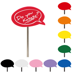 Speech Bubble Topper
