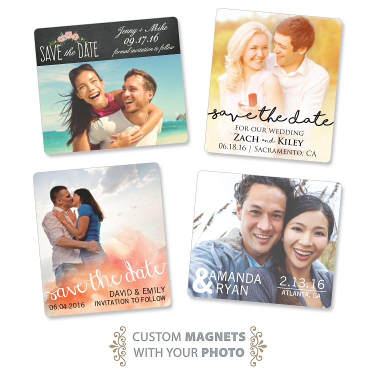 Wedding Magnet - 3.5x4 Round Corners - 25 mil.