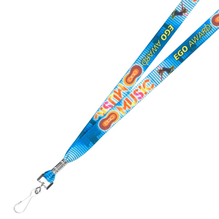 3/4 Recycled Multi-Color Sublimation Lanyard (Overseas 10-15 Days & 6-8 Weeks)