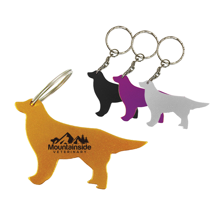 Dog Bottle Opener W/Key chain-close out