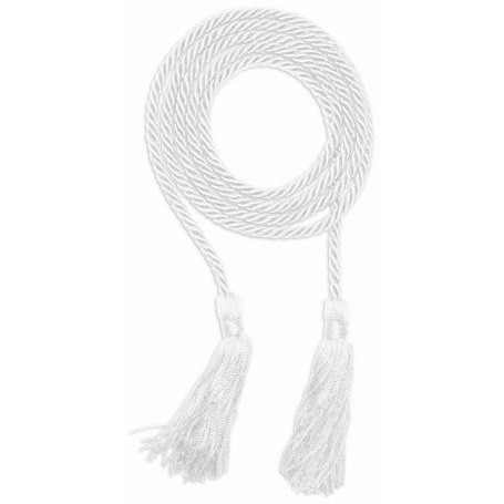 White Graduation Honor Cord