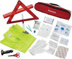 34 Pc Auto Safety First Aid Kit