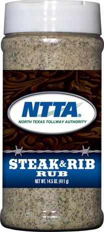 Steak & Rib Dry Rub (pint plastic bottle)
