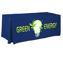 Digital Recycled 6' Fitted Table Cover