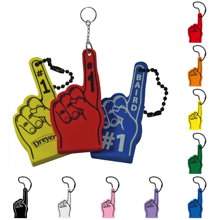 #1 Hand Keytag