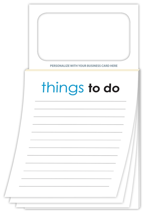 Magnetic Scratch Pad - Stock Things To Do (50 Sheet)
