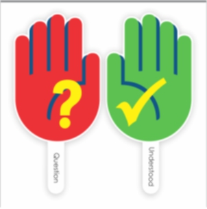 Talk Paddles for Virtual Meetings and Online Schooling