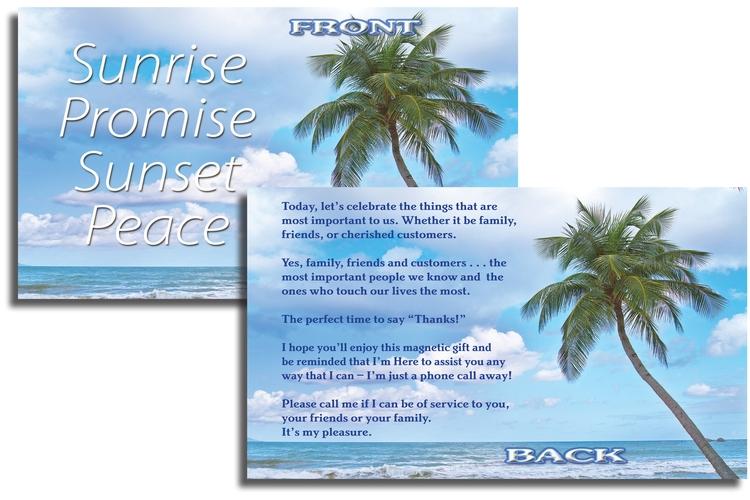 EZ Inserts – Sunrise Promise / Sunset Peace