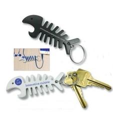Big Fish Bone Bottle Opener/Cord Winder/Keychain