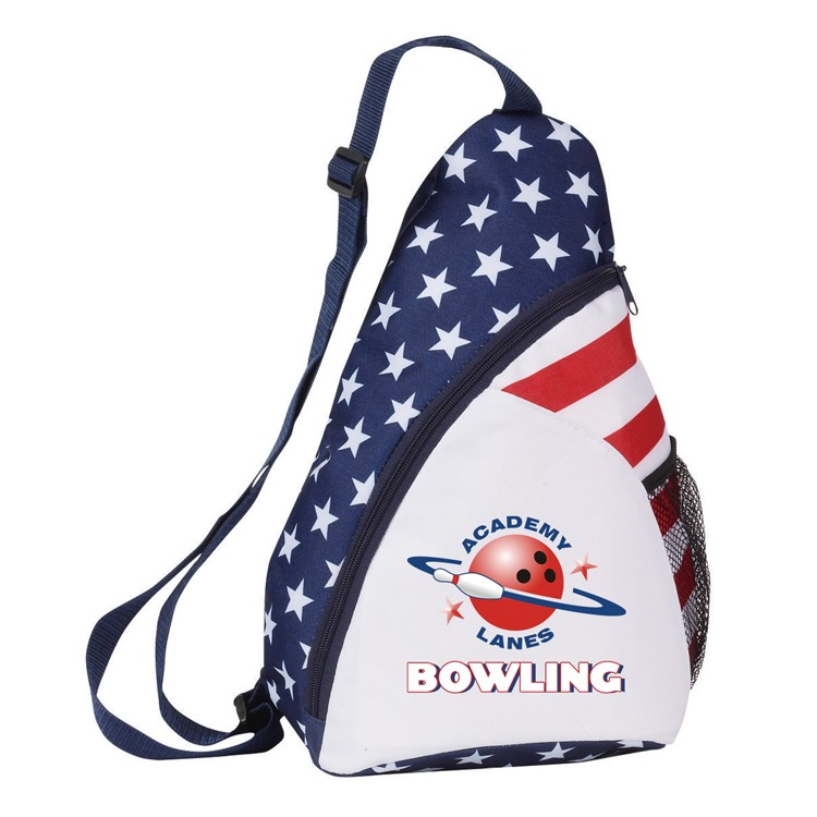 600 Denier Patriotic Backpack(Bag, Backpack)