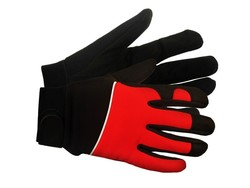 Red M100 Mechanics Gloves (X-Large)