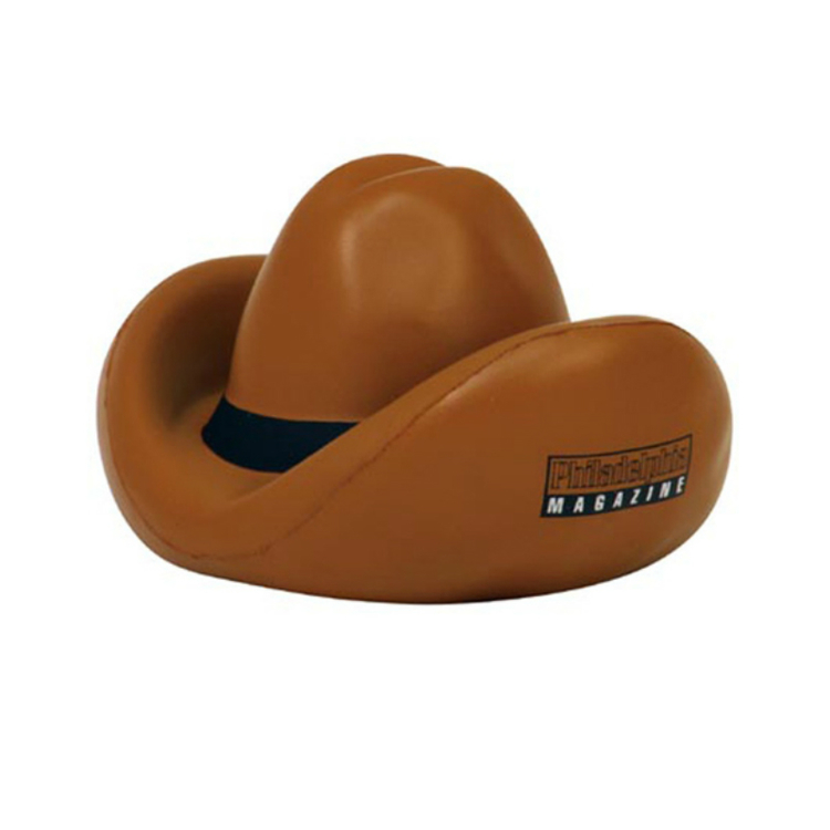 PU Cowboy Hat Stress Reliever