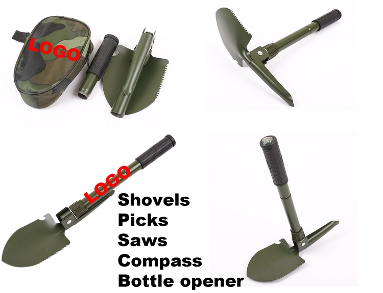Multifunction Folding Shovel