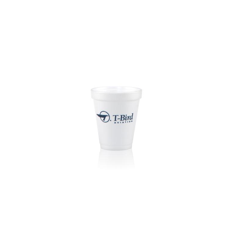 6 oz Foam Cup - White - Hi-Speed