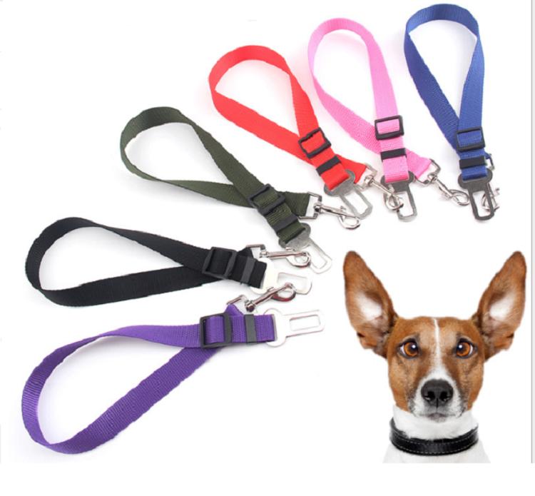 Pet Seat Belt >> Adjustable Dog Seat Belt Pet Seat Belt Free Shipping