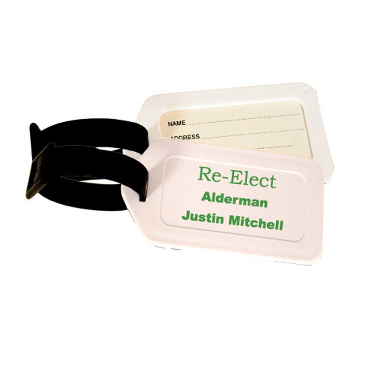 Clearance Item! Rectangle Luggage Tag