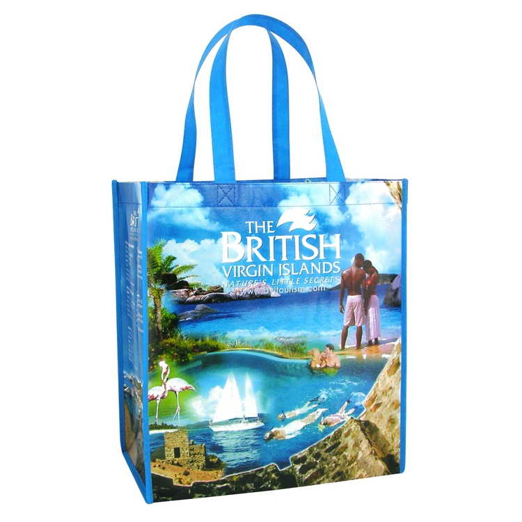 Full Color Custom Laminated Non-woven Shopping Bag