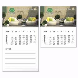 BIC&#174 Business Card Magnet with 12 Sheet Calendar
