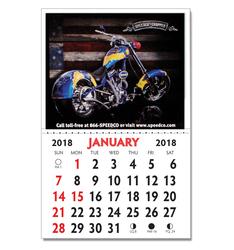 Kwik-Stik© Full Color Vinyl Calendar