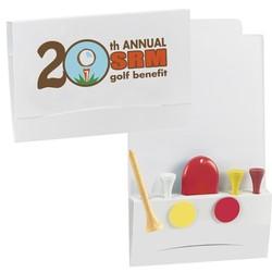 4-2-1 Golf Tee Packet - Value Pak-2-1/8 Tees