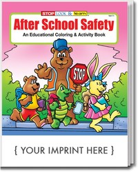 COLORING BOOK - After School Safety Coloring & Activity Book - Coloring Book