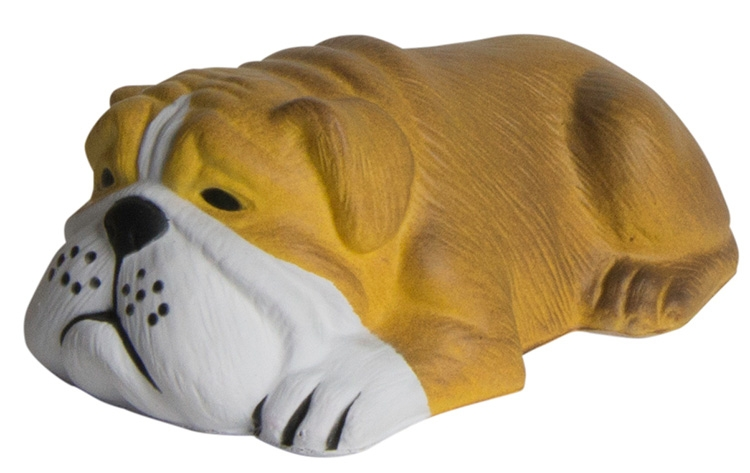 Dog Lying Down Squeezies Stress Reliever