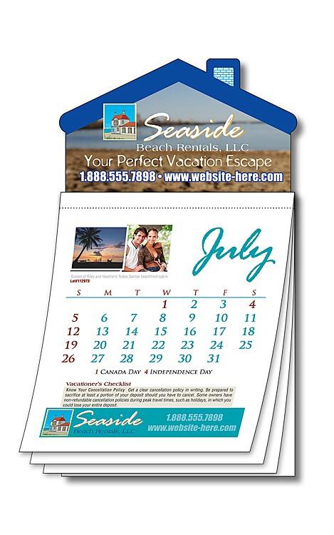 Magna-Cal House Magnet Calendar - Custom 3.5x6.25