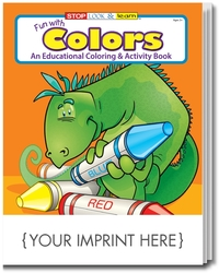 COLORING BOOK - Fun With Colors Coloring & Activity Book - Coloring Book