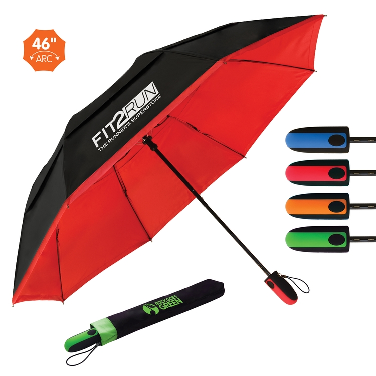 Vented Reveal Umbrella — Auto-Open