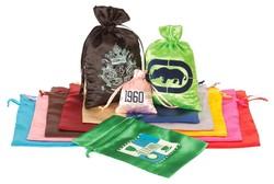 Satin Drawstring Bag 6x9