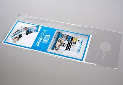 Clear Door Hanger Bags