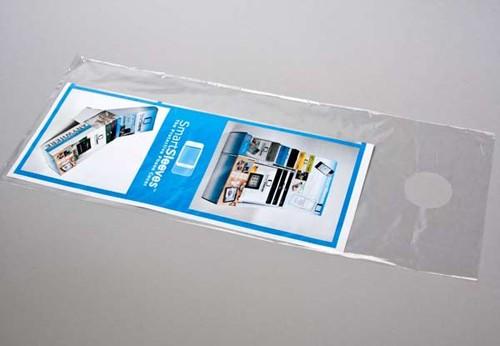 Clear Door Hanger Bags