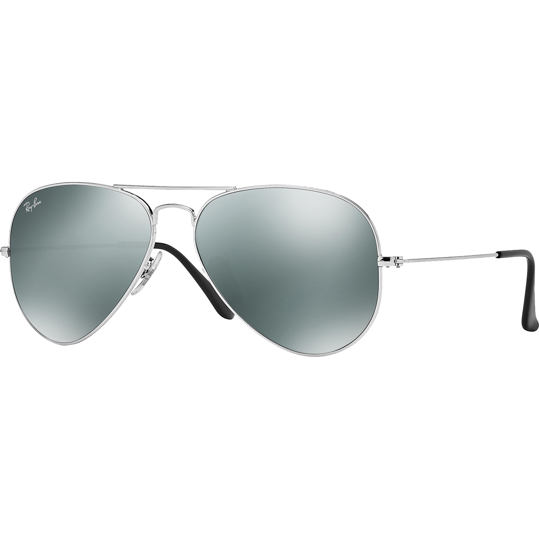 6db704e392 Ray-Ban Aviator Sunglasses - Silver Mirror - 0RB3025W327758 ...
