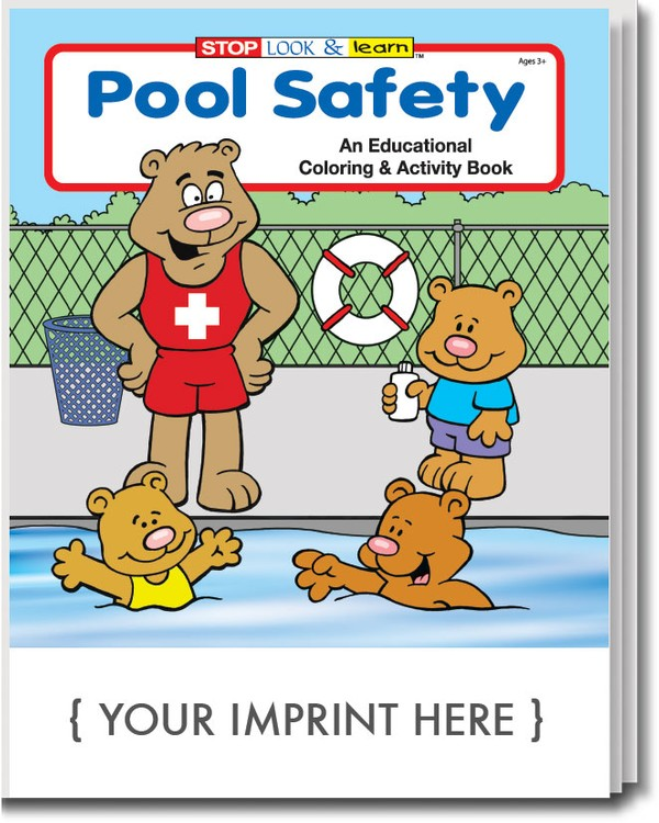 COLORING BOOK - Pool Safety Coloring & Activity Book