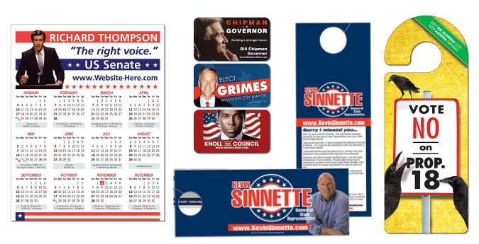 Custom Printed Candidate Campaign Postcard Mailers