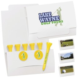 6-2 Golf Tee Packet - Value Pak-2-1/8 Tees