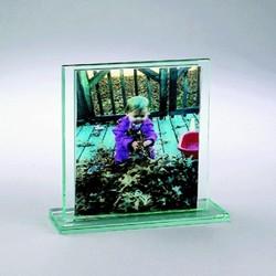 4 X 6 Sandwich Glass Frame, Vertical