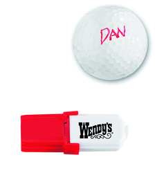 GOLF BALL MARKER PEN, WITH QUICK DRYING WATER PROOF INK