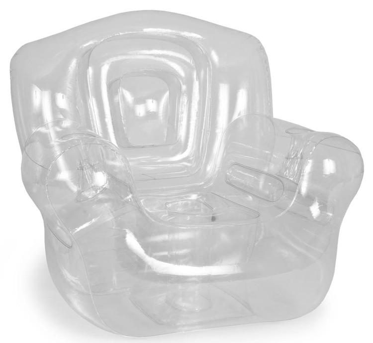 "Inflatable Chair, White - 41""W x 38""H x 35""D"