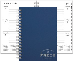 NEW! 2017 Wired Weekly Planners - Small