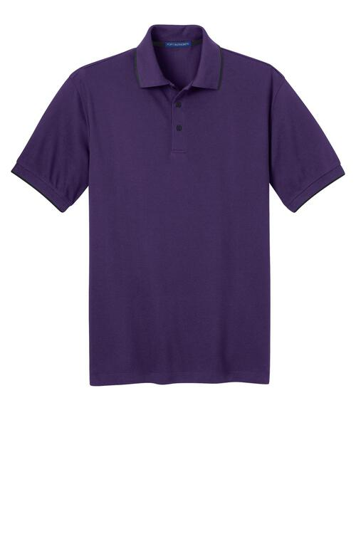 Port Authority Rapid Dry Tipped Polo.