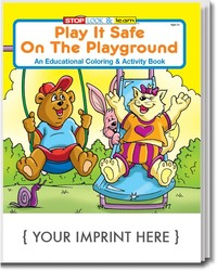 COLORING BOOK - Play It Safe on the Playground Coloring & Activity Book - Coloring Book