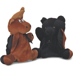 Bear to Bull Hand Puppet - Close Out