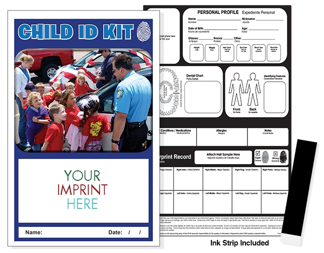 CHILD ID SAFETY KIT - Police