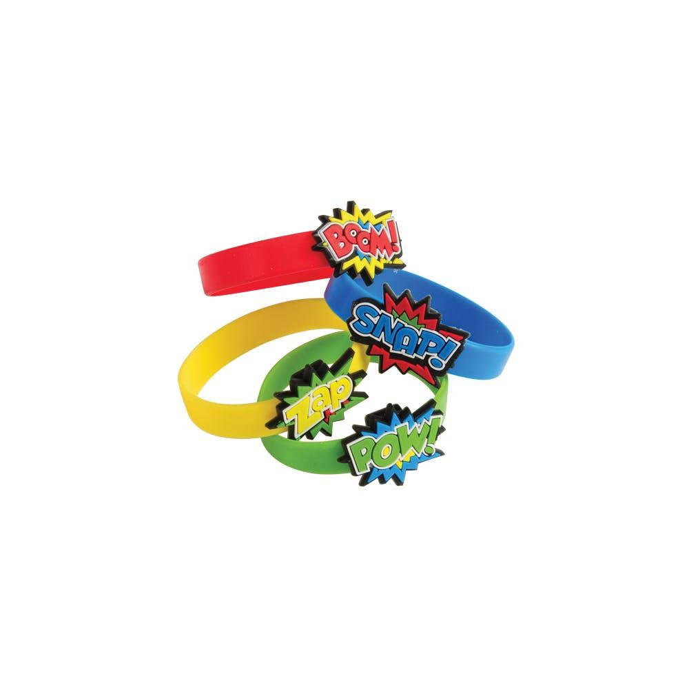 Superhero Rubber Bracelets 1939508 Custom Logo Branded